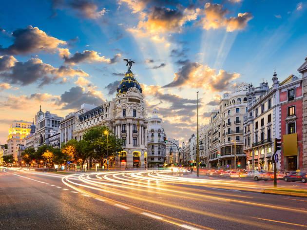 Umzug nach Madrid
