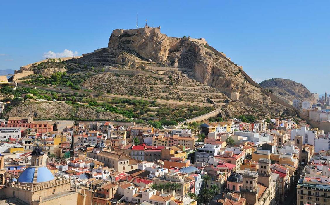 Umzug nach Alicante