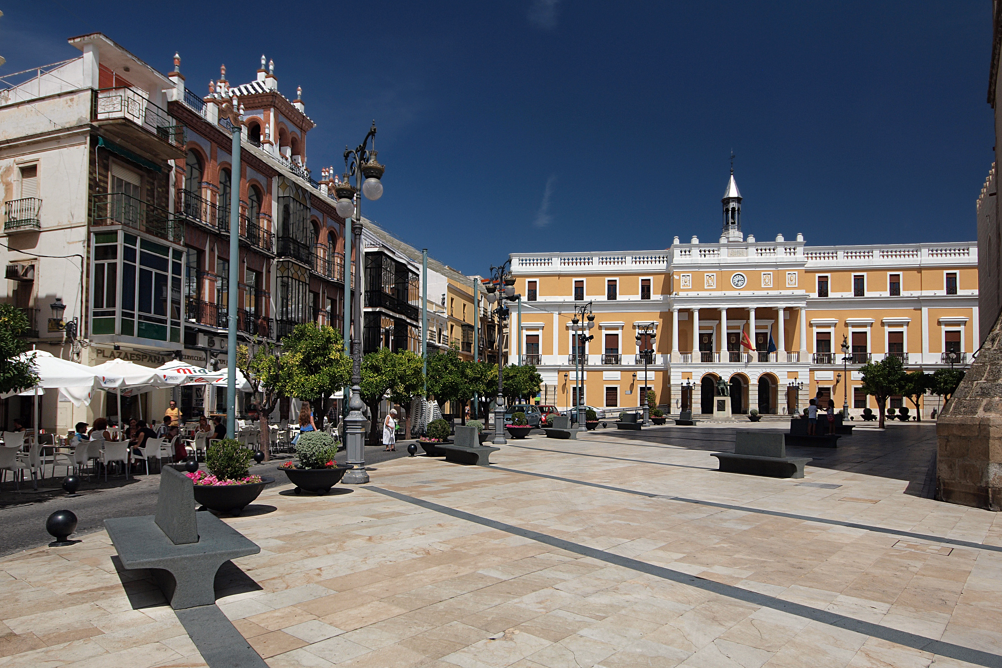 Umzug nach Badajoz