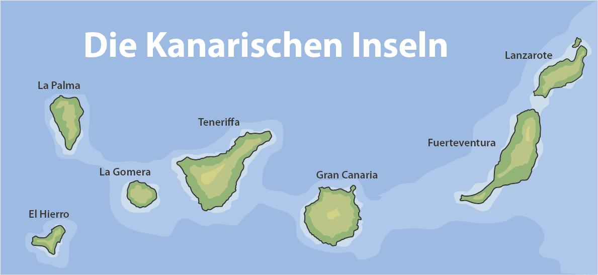 Umzug nach Kanarischen Inseln